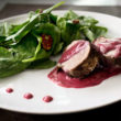 Pork Tenderloin With Blackberry Peppercorn Sauce